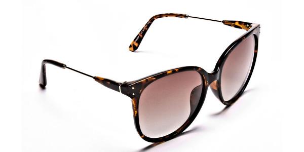 Tortoiseshell sunglasses -1