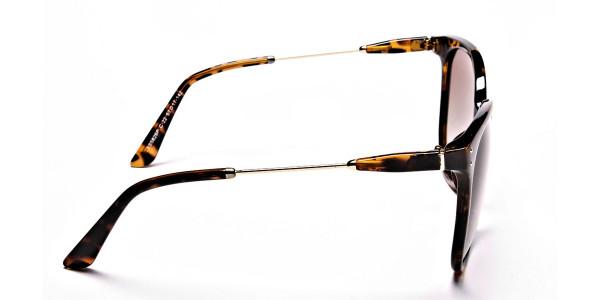 Tortoiseshell sunglasses -3
