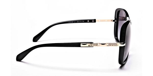 Sunglasses with Black & Grey Gradients -3