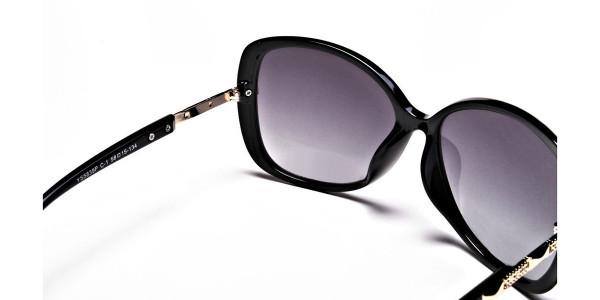 Sunglasses with Black & Grey Gradients -4