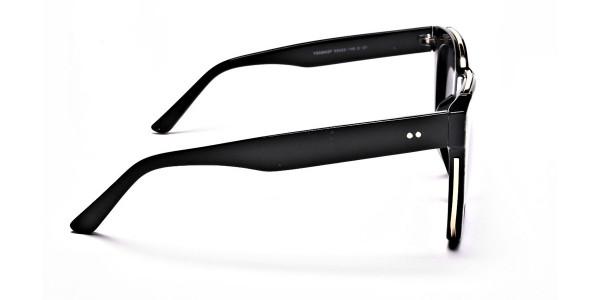 Tortoiseshell Silver Sunglasses -3