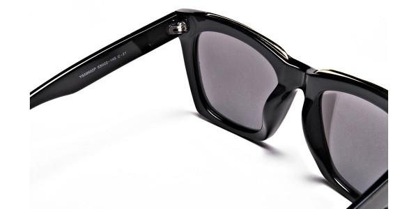 Tortoiseshell Silver Sunglasses -4