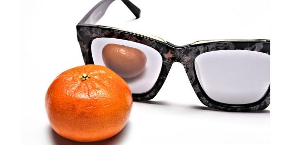 Tortoiseshell Silver Sunglasses -5