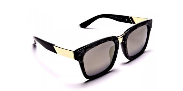 Black & Gold Sunglasses -1