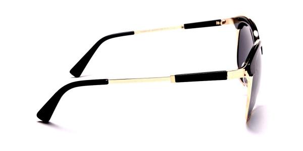 GOLD ROUND Sunglasses -3