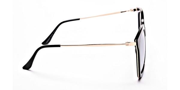 Black & Gold Trophy Sunglasses -3