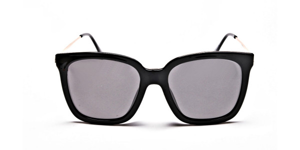 Black & Grey Shaded Sunglasses