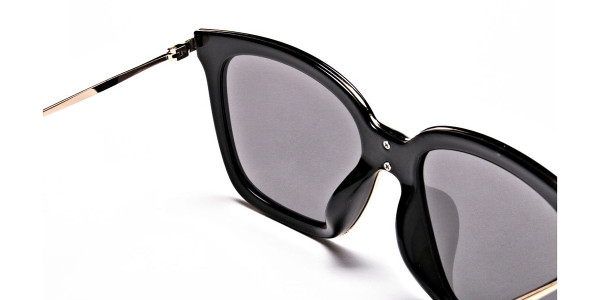 Black & Grey Shaded Sunglasses -4