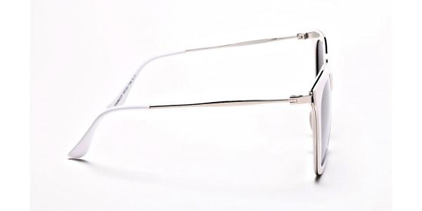 Cream & silver Sunglasses -3