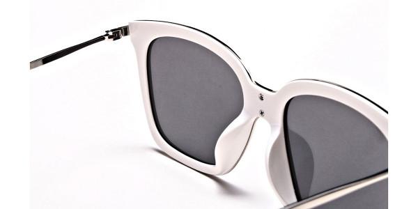 Cream & silver Sunglasses -4