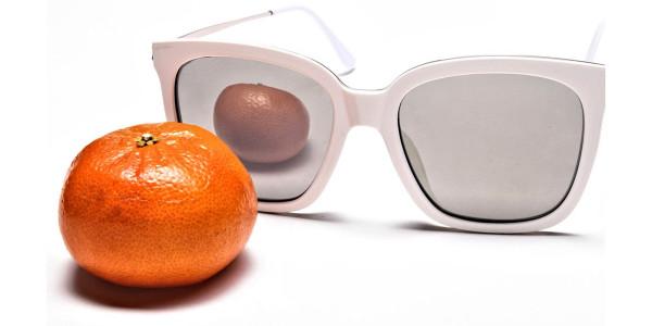 Cream & silver Sunglasses -5