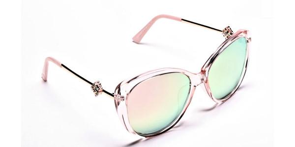 Pink Sunglasses  -1