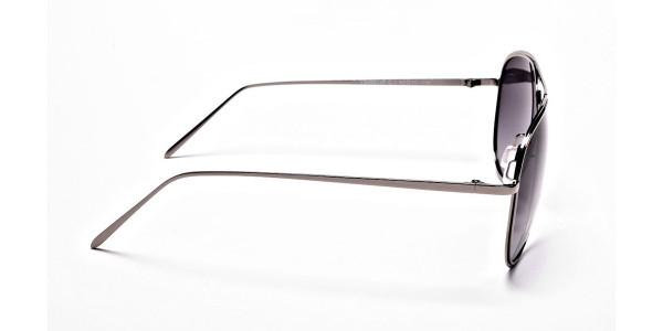 Grey Lens Sunglasses -3