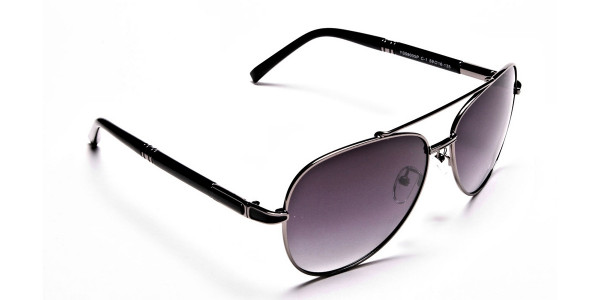 Black Framed Sunglasses -1