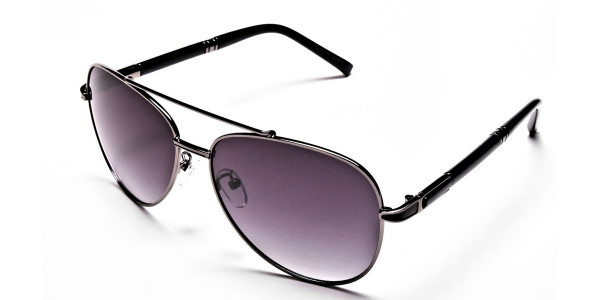 Black Framed Sunglasses -2