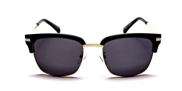 Browline Black & Gold
