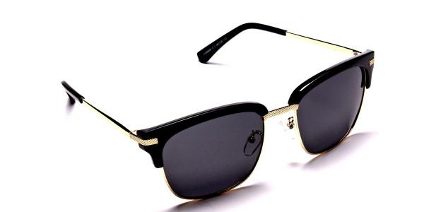 Browline Black & Gold -1
