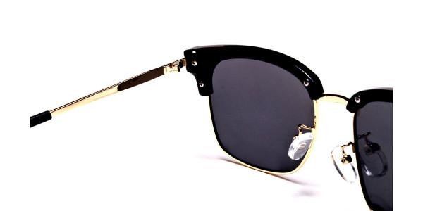 Browline Black & Gold -4