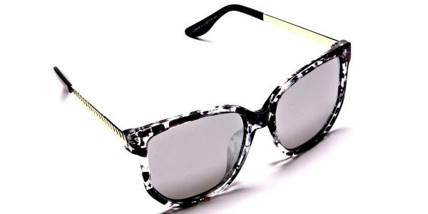 Black, Gold and Silver Sunglasses -1