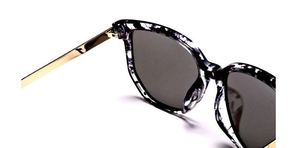 Black, Gold and Silver Sunglasses -4