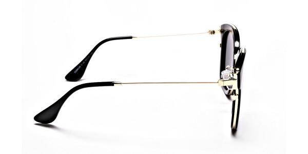 Sunglasses Black & Gold -3