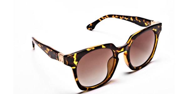 Tortoiseshell Leopard Sunglasses -1