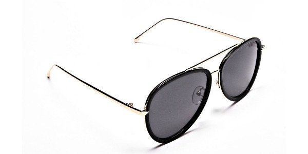 Ladies Aviator Sunglasses - 1