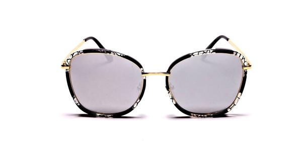 Black Colour Variations Sunglasses