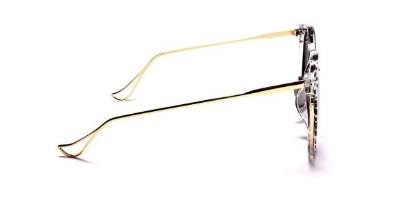 Striking Unique Design Sunglasses -3