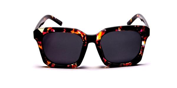 Tortoiseshell Unique Sunglasses