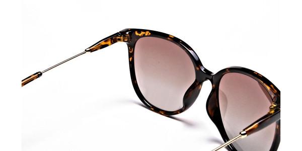 Tortoiseshell sunglasses -4