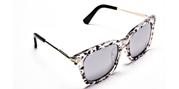 White Tiger Sunglasses -1