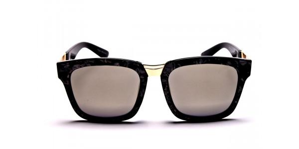 Black & Gold Sunglasses