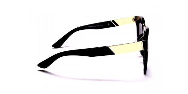 Black & Gold Sunglasses -3