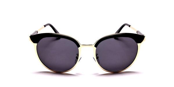 GOLD ROUND Sunglasses