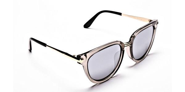Show off Gold Sunglasses -1