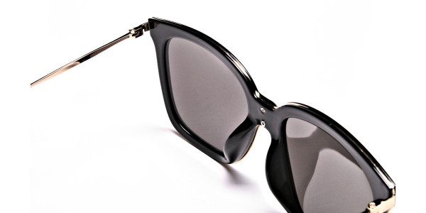 Black & Gold Trophy Sunglasses -4