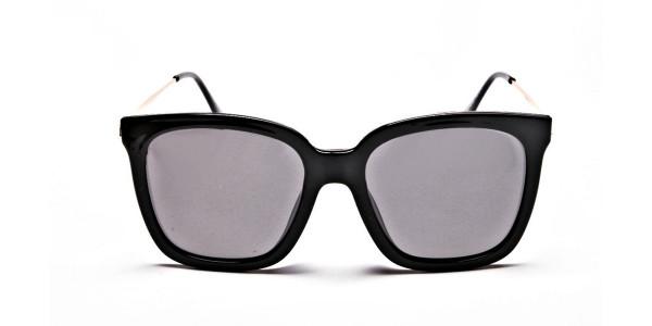Black & Grey Shaded Sunglasses