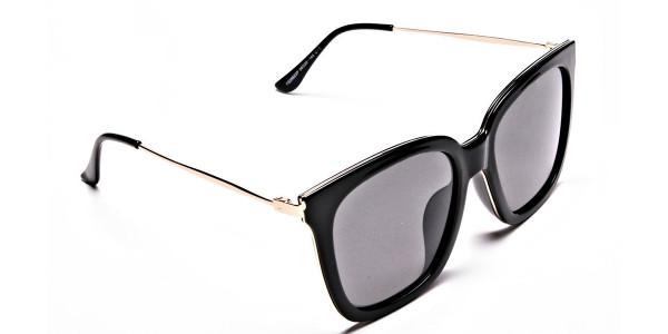 Black & Grey Shaded Sunglasses -1