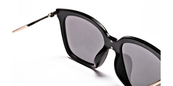 Black & Grey Shaded Sunglasses -4
