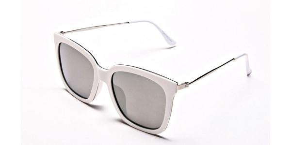 Cream & silver Sunglasses -2