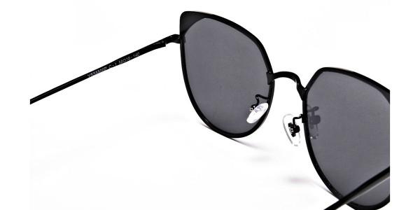 Dark Black Sunglasses -4