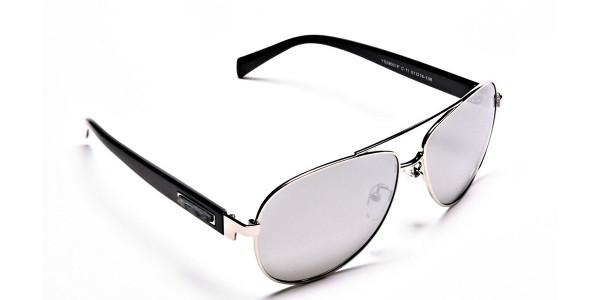 Bold & Beautiful Aviator Sunglasses -1