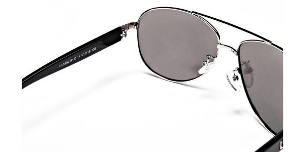 Bold & Beautiful Aviator Sunglasses -4