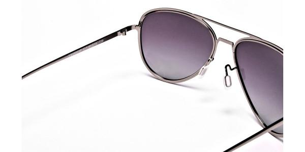 Grey Lens Sunglasses -4