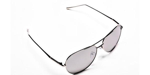 Silver Sunglasses -1