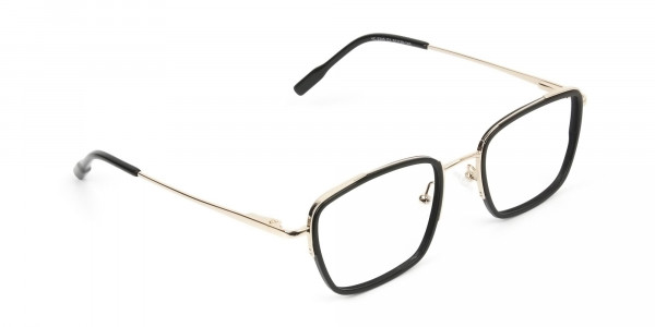 Spider Man Glasses in Black & Gold - 2