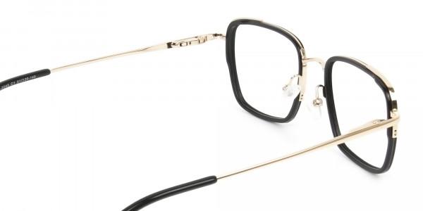 Spider Man Glasses in Black & Gold - 5