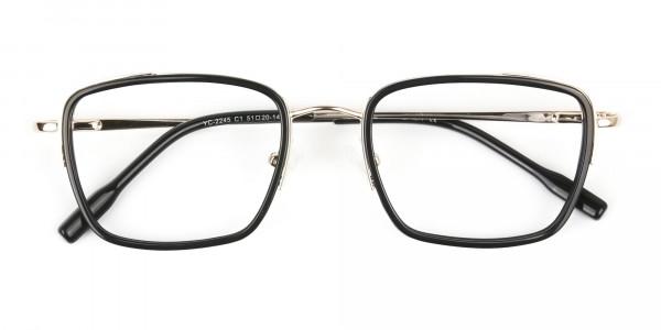 Spider Man Glasses in Black & Gold - 7