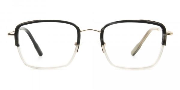 Spider Man Tony Stark Glasses Marble Grey & Nude Translucent - 1